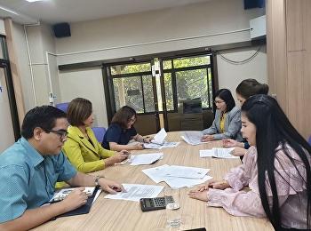 ประชุมการดำเนินโครงการภาคพิเศษ เทอม 2/2562